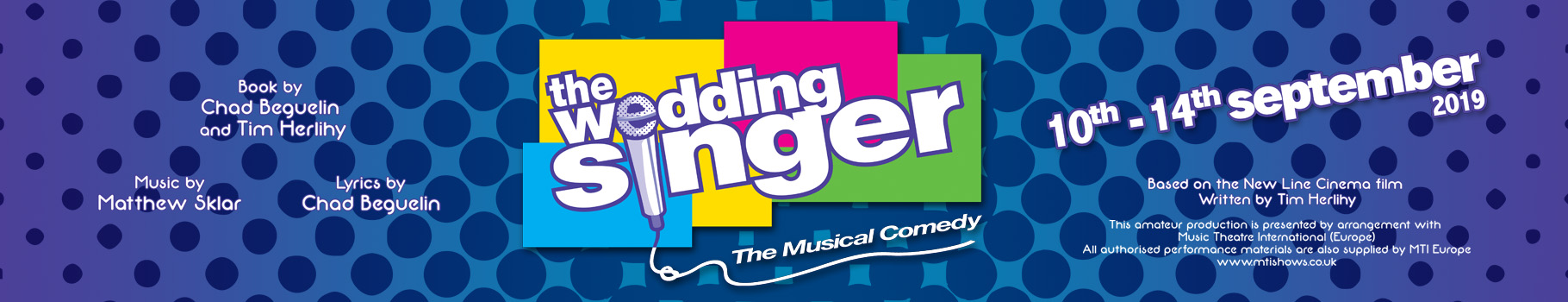 19-09 The Wedding Singer LAOS Web Banner2